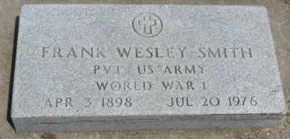 SMITH, FRANK WESLEY - Yankton County, South Dakota | FRANK WESLEY SMITH - South Dakota Gravestone Photos