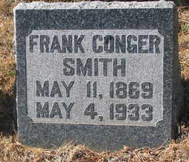 SMITH, FRANK CONGER - Yankton County, South Dakota | FRANK CONGER SMITH - South Dakota Gravestone Photos