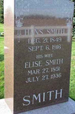 SMITH, HANS - Yankton County, South Dakota | HANS SMITH - South Dakota Gravestone Photos