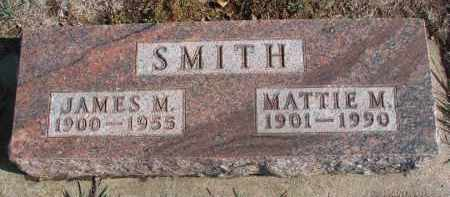 SMITH, MATTIE M. - Yankton County, South Dakota | MATTIE M. SMITH - South Dakota Gravestone Photos
