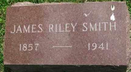 SMITH, JAMES RILEY - Yankton County, South Dakota   JAMES RILEY SMITH - South Dakota Gravestone Photos