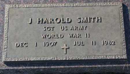 SMITH, J. HAROLD (WW II) - Yankton County, South Dakota   J. HAROLD (WW II) SMITH - South Dakota Gravestone Photos