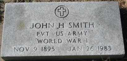SMITH, JOHN H. (WW I) - Yankton County, South Dakota | JOHN H. (WW I) SMITH - South Dakota Gravestone Photos