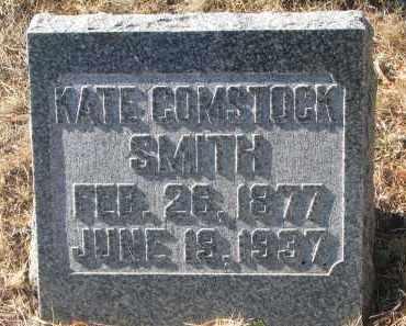 SMITH, KATE - Yankton County, South Dakota   KATE SMITH - South Dakota Gravestone Photos