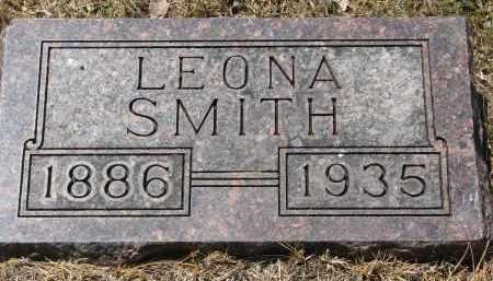 SMITH, LEONA - Yankton County, South Dakota   LEONA SMITH - South Dakota Gravestone Photos