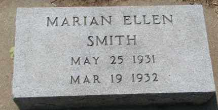 SMITH, MARIAN ELLEN - Yankton County, South Dakota | MARIAN ELLEN SMITH - South Dakota Gravestone Photos