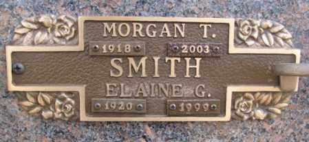 SMITH, ELAINE G. - Yankton County, South Dakota | ELAINE G. SMITH - South Dakota Gravestone Photos