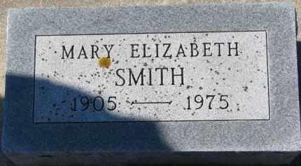 SMITH, MARY ELIZABETH - Yankton County, South Dakota | MARY ELIZABETH SMITH - South Dakota Gravestone Photos