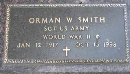 SMITH, ORMAN W. - Yankton County, South Dakota   ORMAN W. SMITH - South Dakota Gravestone Photos