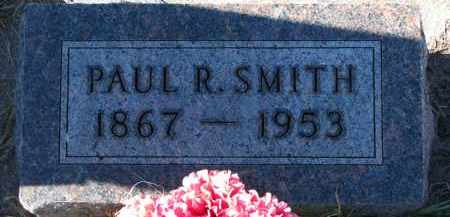 SMITH, PAUL R. - Yankton County, South Dakota | PAUL R. SMITH - South Dakota Gravestone Photos