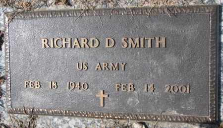 SMITH, RICHARD D. (MILITARY) - Yankton County, South Dakota   RICHARD D. (MILITARY) SMITH - South Dakota Gravestone Photos