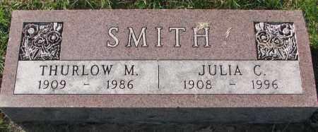 SMITH, THURLOW M. - Yankton County, South Dakota | THURLOW M. SMITH - South Dakota Gravestone Photos