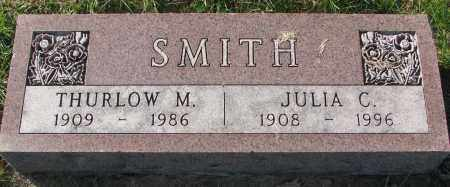 SMITH, THURLOW M. - Yankton County, South Dakota | THURLOW M. SMITH - South Dakota Gravestone Photos