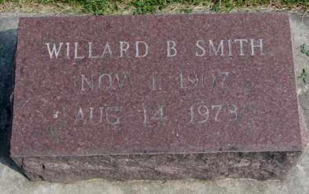 SMITH, WILLARD B. - Yankton County, South Dakota   WILLARD B. SMITH - South Dakota Gravestone Photos