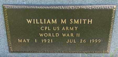 SMITH, WILLIAM M. (WW II) - Yankton County, South Dakota | WILLIAM M. (WW II) SMITH - South Dakota Gravestone Photos