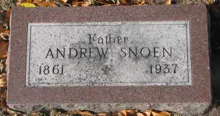 SNOEN, ANDREW - Yankton County, South Dakota | ANDREW SNOEN - South Dakota Gravestone Photos