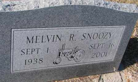 SNOOZY, MELVIN R. - Yankton County, South Dakota   MELVIN R. SNOOZY - South Dakota Gravestone Photos