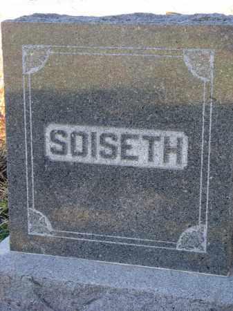 SOISETH, FAMILY STONE - Yankton County, South Dakota | FAMILY STONE SOISETH - South Dakota Gravestone Photos