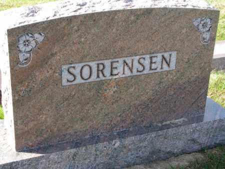 SORENSEN, FAMILY STONE - Yankton County, South Dakota | FAMILY STONE SORENSEN - South Dakota Gravestone Photos