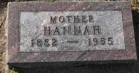 SORENSEN, HANNAH - Yankton County, South Dakota | HANNAH SORENSEN - South Dakota Gravestone Photos