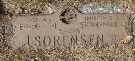 SORENSEN, JENSINA E. - Yankton County, South Dakota | JENSINA E. SORENSEN - South Dakota Gravestone Photos