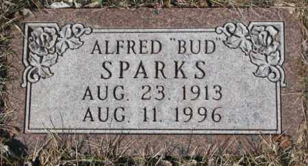 "SPARKS, ALFRED ""BUD"" - Yankton County, South Dakota | ALFRED ""BUD"" SPARKS - South Dakota Gravestone Photos"