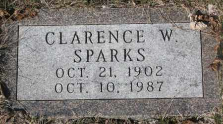 SPARKS, CLARENCE W. - Yankton County, South Dakota | CLARENCE W. SPARKS - South Dakota Gravestone Photos