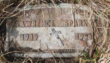 SPARKS, LAWRENCE - Yankton County, South Dakota   LAWRENCE SPARKS - South Dakota Gravestone Photos