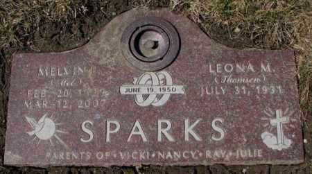 SPARKS, MELVIN - Yankton County, South Dakota | MELVIN SPARKS - South Dakota Gravestone Photos