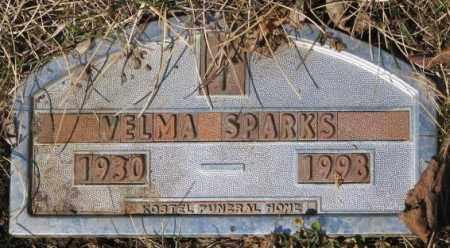 SPARKS, VELMA - Yankton County, South Dakota | VELMA SPARKS - South Dakota Gravestone Photos
