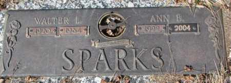 SPARKS, WALTER L. - Yankton County, South Dakota | WALTER L. SPARKS - South Dakota Gravestone Photos