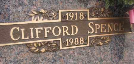 SPENCE, CLIFFORD - Yankton County, South Dakota | CLIFFORD SPENCE - South Dakota Gravestone Photos