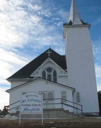 *ST. COLUMBA CATHOLIC, MAYFIELD - Yankton County, South Dakota | MAYFIELD *ST. COLUMBA CATHOLIC - South Dakota Gravestone Photos