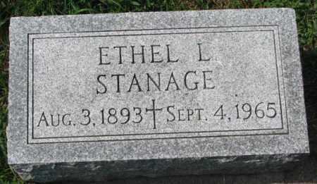STANAGE, ETHEL L. - Yankton County, South Dakota | ETHEL L. STANAGE - South Dakota Gravestone Photos