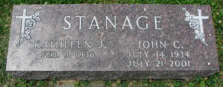STANAGE, JOHN C. - Yankton County, South Dakota | JOHN C. STANAGE - South Dakota Gravestone Photos