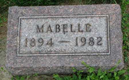STANAGE, MABELLE - Yankton County, South Dakota | MABELLE STANAGE - South Dakota Gravestone Photos