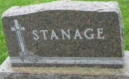 STANAGE, PLOT - Yankton County, South Dakota | PLOT STANAGE - South Dakota Gravestone Photos