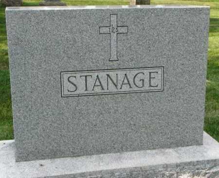 STANAGE, PLOT - Yankton County, South Dakota | PLOT STANAGE - South Dakota Gravestone Photos