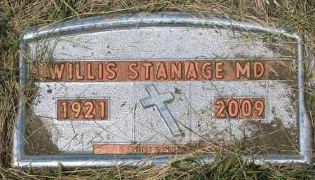 STANAGE, WILLIS - Yankton County, South Dakota | WILLIS STANAGE - South Dakota Gravestone Photos