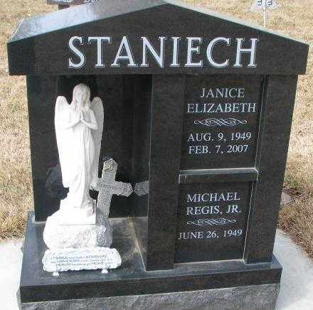 STANIECH, JANICE ELIZABETH - Yankton County, South Dakota | JANICE ELIZABETH STANIECH - South Dakota Gravestone Photos