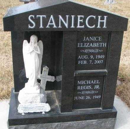 STANIECH, MICHAEL REGIS JR. - Yankton County, South Dakota | MICHAEL REGIS JR. STANIECH - South Dakota Gravestone Photos