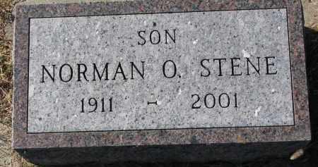 STENE, NORMAN O. - Yankton County, South Dakota   NORMAN O. STENE - South Dakota Gravestone Photos