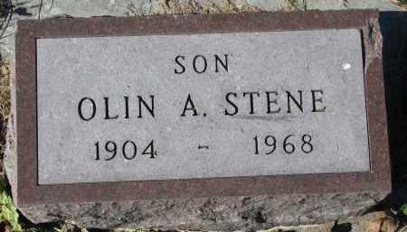STENE, OLIN A. - Yankton County, South Dakota   OLIN A. STENE - South Dakota Gravestone Photos