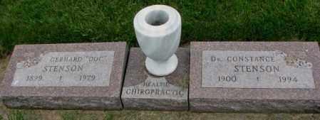 "STENSON, GERHARD ""DOC"" - Yankton County, South Dakota | GERHARD ""DOC"" STENSON - South Dakota Gravestone Photos"