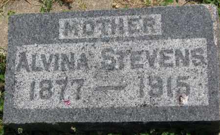 STEVENS, ALVINA - Yankton County, South Dakota | ALVINA STEVENS - South Dakota Gravestone Photos