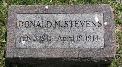 STEVENS, DONALD M. - Yankton County, South Dakota | DONALD M. STEVENS - South Dakota Gravestone Photos