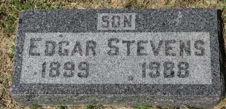 STEVENS, EDGAR - Yankton County, South Dakota | EDGAR STEVENS - South Dakota Gravestone Photos