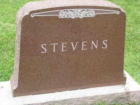 STEVENS, FAMILY STONE - Yankton County, South Dakota | FAMILY STONE STEVENS - South Dakota Gravestone Photos