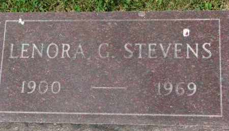 STEVENS, LENORA G. - Yankton County, South Dakota | LENORA G. STEVENS - South Dakota Gravestone Photos