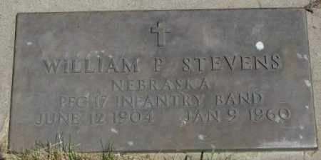 STEVENS, WILLIAM P. (MILITARY) - Yankton County, South Dakota | WILLIAM P. (MILITARY) STEVENS - South Dakota Gravestone Photos